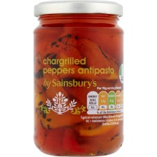 Sainsburys Chargrilled Peppers Antipasto 280g