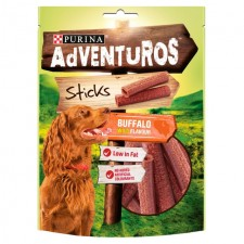 Adventuros Sticks Buffalo Flavour Dog Treat 120g