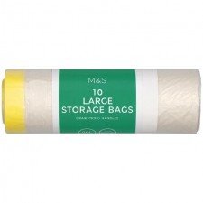 Marks and Spencer Large Storage Bags 90L 10 Pack