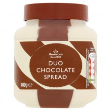 Morrisons Duo Chocolate Spread 400g