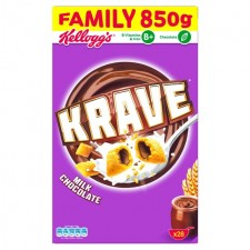 Kelloggs Krave Milk Chocolate 850g