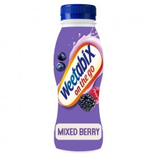 Weetabix On The Go Strawberry and Raspberry Protein Drink 275ml