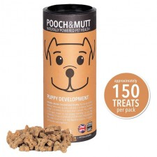Pooch and Mutt Puppy Development Mini Bone Treats For Dogs 125g