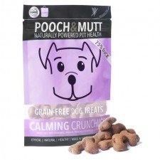 Pooch and Mutt Calming Crunchies Grain Free Treats 80g