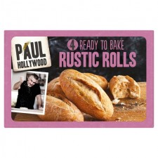 Paul Hollywood 4 Ready to Bake Rustic Rolls 300g