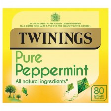 Twinings Pure Peppermint Tea 80 Teabags