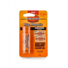O'Keeffes Unscented Lip Repair Balm 4.2g