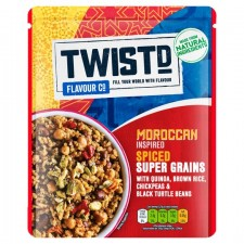 Twistd Flavour Co Moroccan Inspired Spiced Super Grains with Quinoa 250g