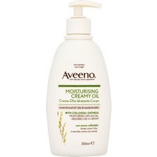 Aveeno Moisturising Creamy Oil with Sweet Almond Oil and Colloidal Oatmeal 300ml