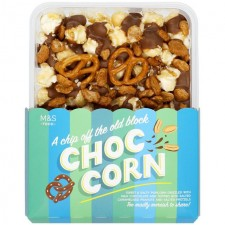 Marks and Spencer Chip Off the Old Block Choc Corn 205g
