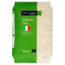 Chefs Larder Arborio Risotto Rice 2kg