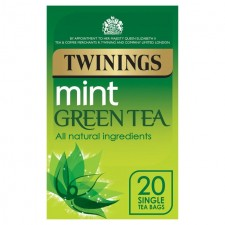 Twinings Mint Green Tea 20 Teabags