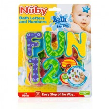 Nuby Bath Letters and Numbers
