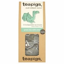 Teapigs Green Tea with Mint 15 Teabags