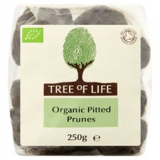 Tree of Life Organic Pitted Prunes 250g