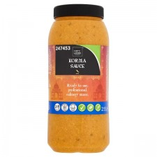 Catering Size Chefs Larder Korma Curry Sauce 2.15kg