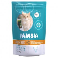 Iams Adult Dry Cat Food Light in Fat Chicken 700g