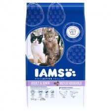 Iams Multi-Cat Chicken and Salmon 3kg