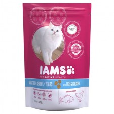 Iams Senior And Mature Dry Cat Food Ocean Fish 700g