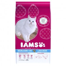 Iams Mature and Senior Cat Ocean Fish 2.55kg