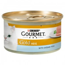 Gourmet Gold Pate with Ocean Fish 85g