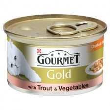 Gourmet Gold Trout and Vegetables 85g