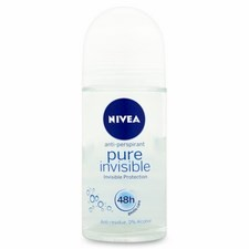 Nivea Pure Invisible Gentle Care Roll On Deodorant 50ml