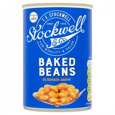 Stockwell And Co Baked Beans In Tomato Sauce 420G