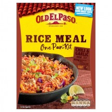 Old El Paso Chilli And Garlic One Pan Rice Kit 355g