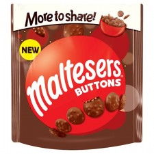Maltesers Buttons Large Pouch 189G