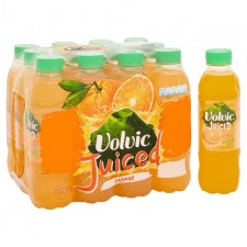 Volvic Juiced Orange Mineral Water 12 x 500ml