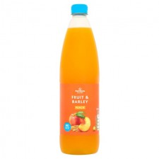 Morrisons No Added Sugar Peach Fruit and Barley 1l