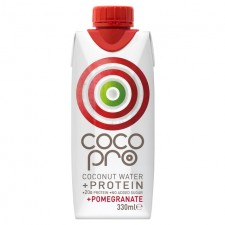 CocoPro Protein Coconut Water with Pomegranate 330ml