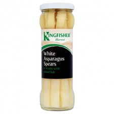 Kingfisher White Asparagus Spears 330g