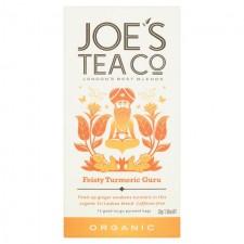 Joes Tea Co Organic Feisty Turmeric Guru Tea 15 Teabags