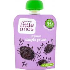 Sainsburys Little Ones Organic Simply Prune Smooth Puree 4mth+ 70g