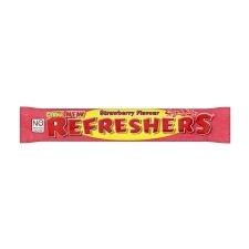 Retail Pack Swizzels Matlow Giant New Refreshers Chew Bar Strawberry Flavour 60 Pack