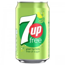Retail Pack 7 Up Free 24 x 330ml Cans