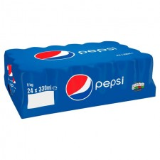Retail Pack Pepsi Regular 24x330ml Cans