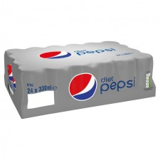 Retail Pack Pepsi Diet 24x330ml Cans