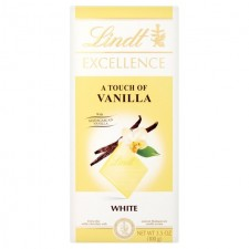 Lindt Excellence Natural Vanilla White Chocolate 100g