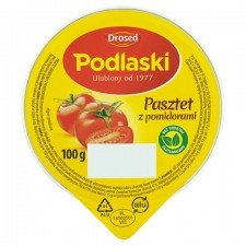 Drosed Podlaski Chicken Pate And Tomatoes 100G