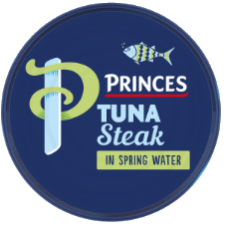 Princes Tuna Steak In Springwater 185g