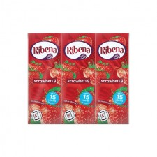 Ribena No Added Sugar Strawberry 6 x 250ml