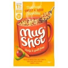 Mug Shot Sweet And Sour Noodles 67g