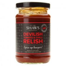 Shaws Devilish Tomato and Chilli Relish 300g