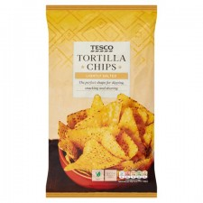 Tesco Lightly Salted Tortilla Chips 200g