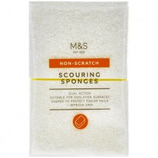 Marks and Spencer Scouring Sponge with Non Scratch Surface
