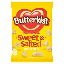 Butterkist Sweet And Salted Popcorn 100g