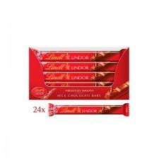 Retail Pack Lindt Lindor Milk Chocolate Treat Bar 24 x 38g